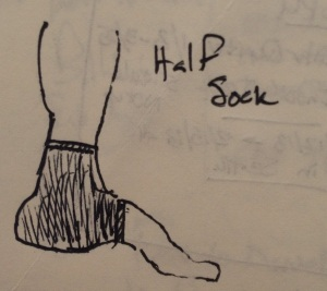 Half Sock Concept